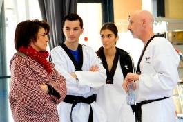 Echange avec Dominique Sassone Estrosi