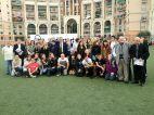 Initiation Taekwondo aux élèves des collèges Risso et Duruy à Nice pour la journée SOLIDARSPORT.