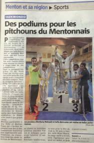 Coupe Fréjus 2015 : 14 médailles!