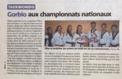 Lilian Laperche Champion de France Juniors 2016, Joséphine Petrosino sur la troisième marche !