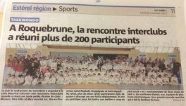 Var-Matin : L'interclubs a réuni plus de 200 Participants.