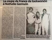 Nathalie Germain remporte la coupe de France!