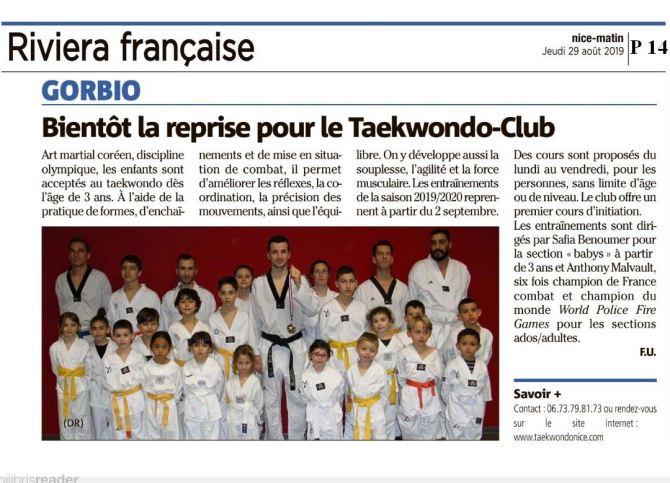 taekwondo nice elite 2019