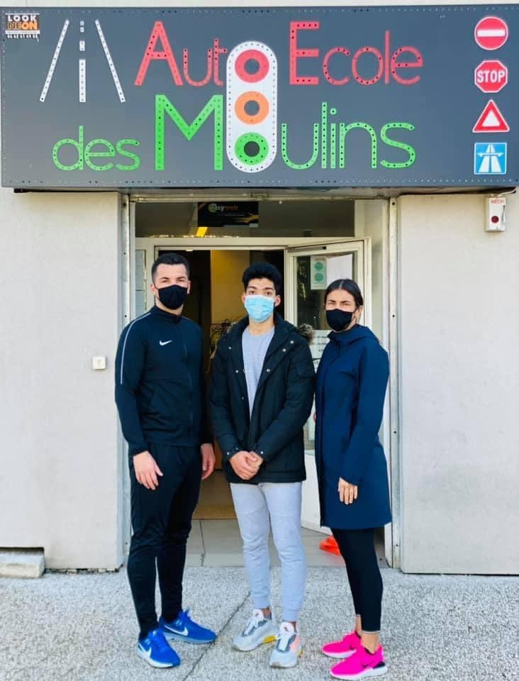 Le Taekwondo Nice Elite avec Anthony Malvault s'engage pour la jeunesse sur le quartier des Moulins à Nice