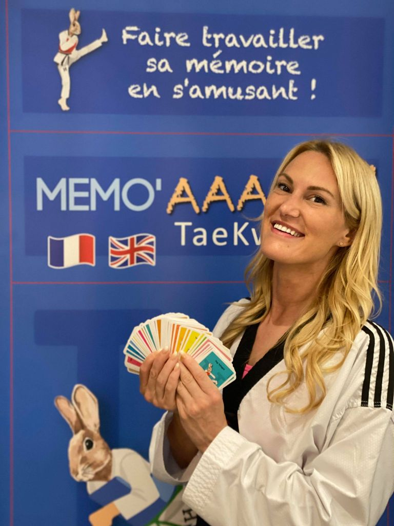 Jeu de cartes – Taekwondo The Game card